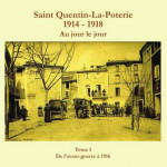 Couverture Saint Quentin 1914 - 1918